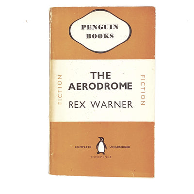 the-aerodome-by-rex-warner-1945-orange-classic-literature-country-house-library