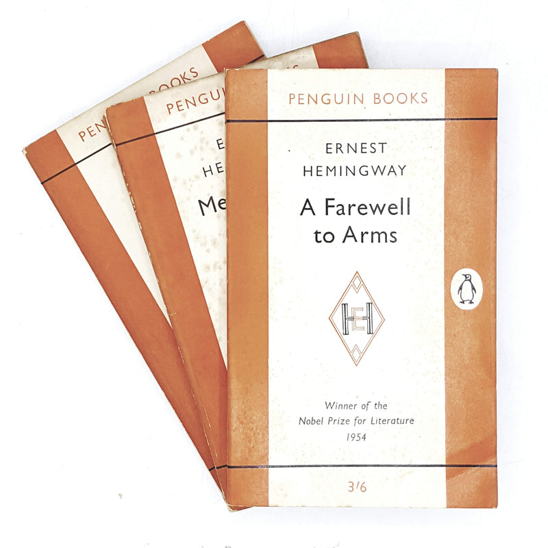 Vintage Penguin Collection Ernest Hemingway Classics 1955 - 1962