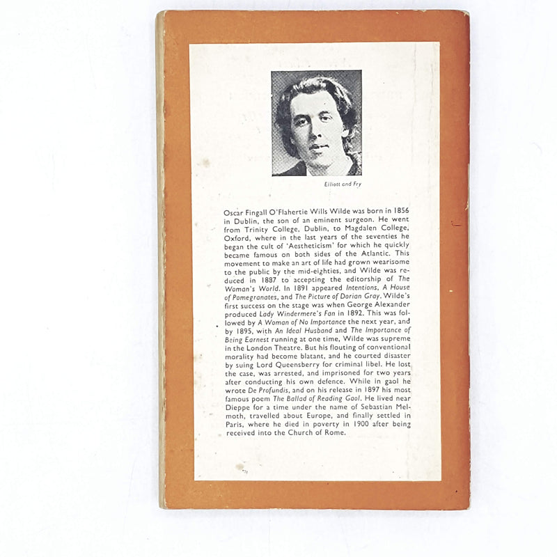 vintage-penguin-the-picture-of-dorian-gray-by-oscar-wilde-1952-orange-classic literature-country-house-library