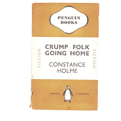 vintage-penguin-crump-folk-going-home-by-constance-holme-1941-orange-classic literature-country-house-library