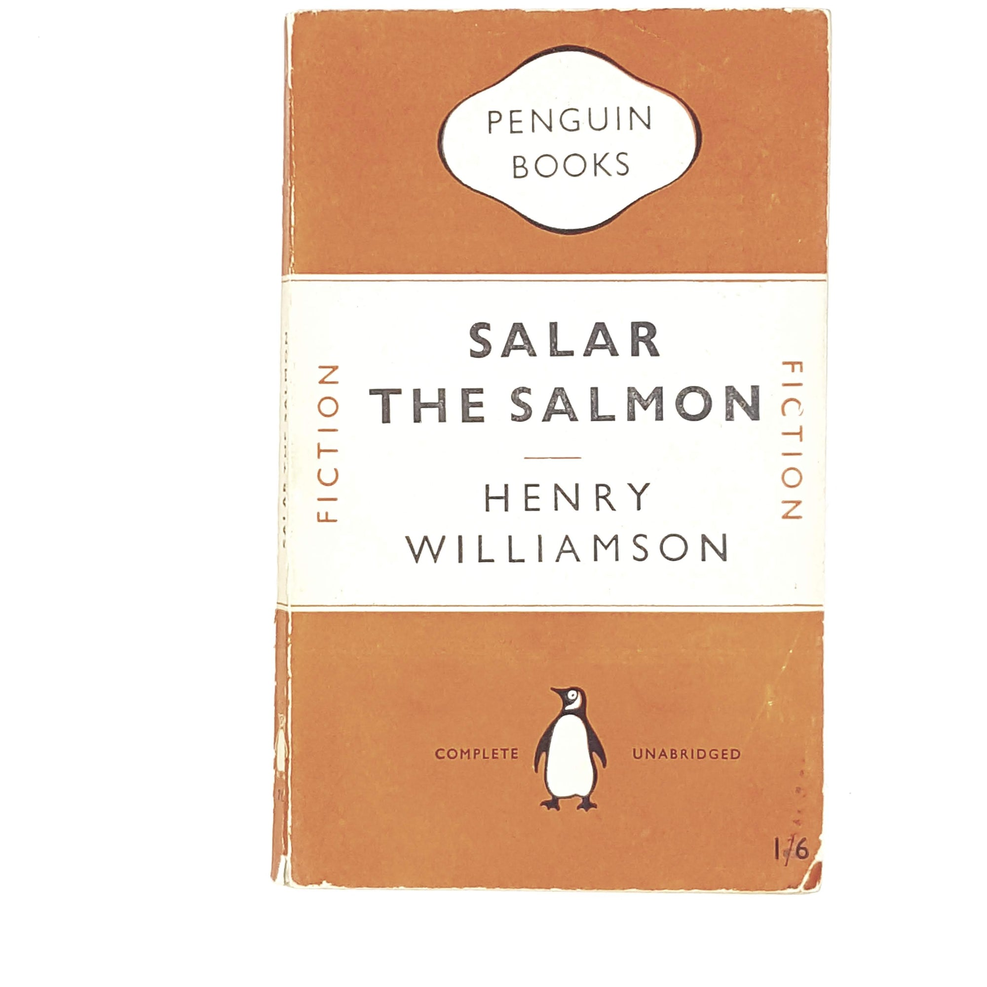 Vintage Penguin Salar The Salmon by Henry Williamson 1949