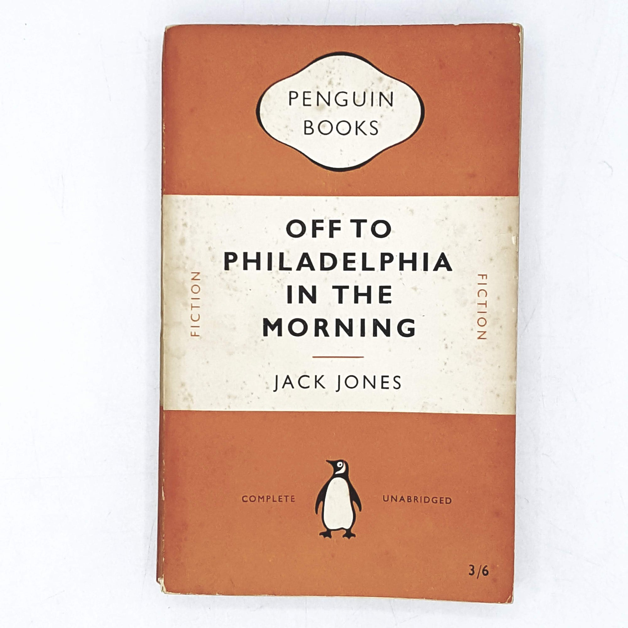 Vintage Penguin off to Philadelphia in the Morning by Jack Jones 1951