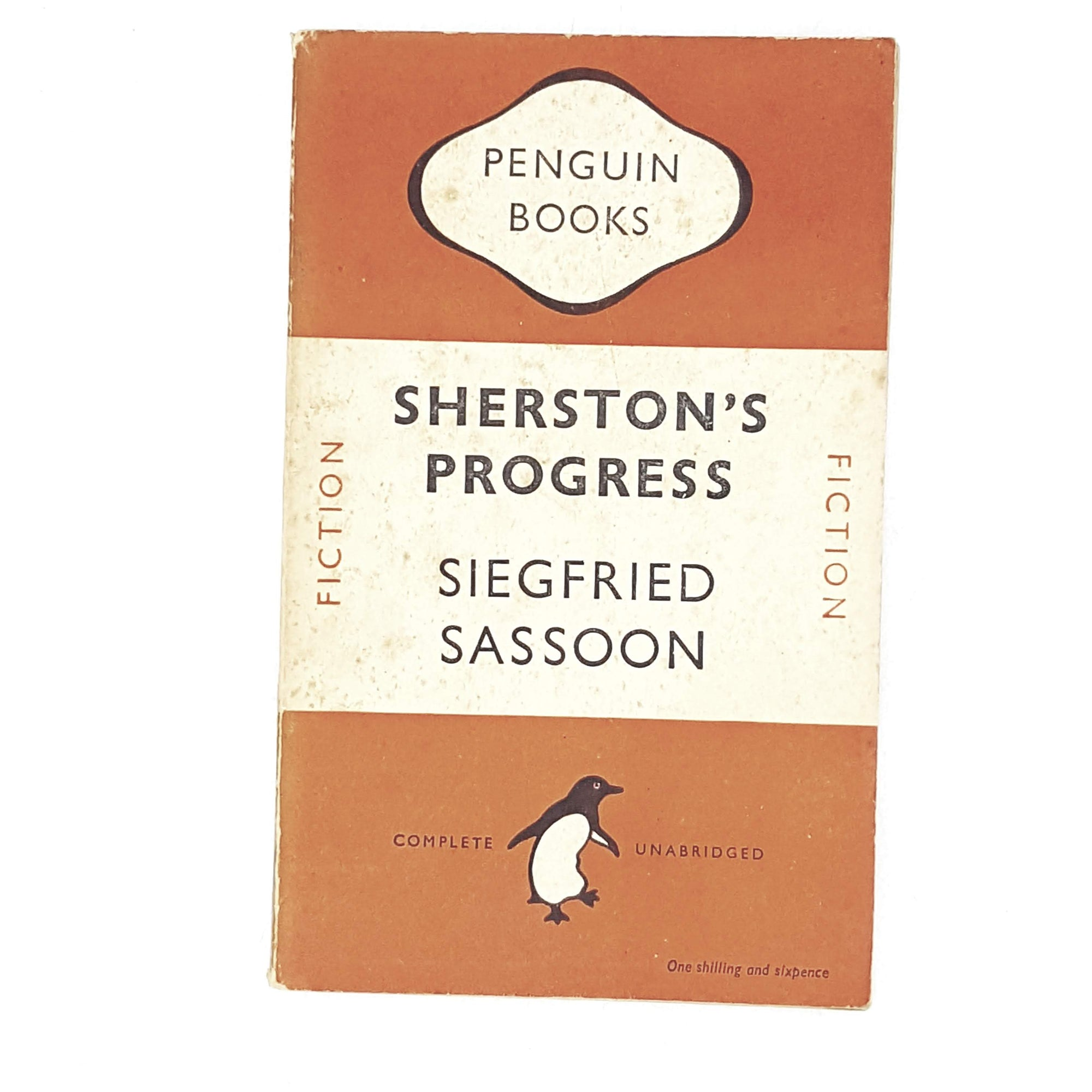 Vintage Penguin Sherston's Progress by Siegfried Sassoon 1948