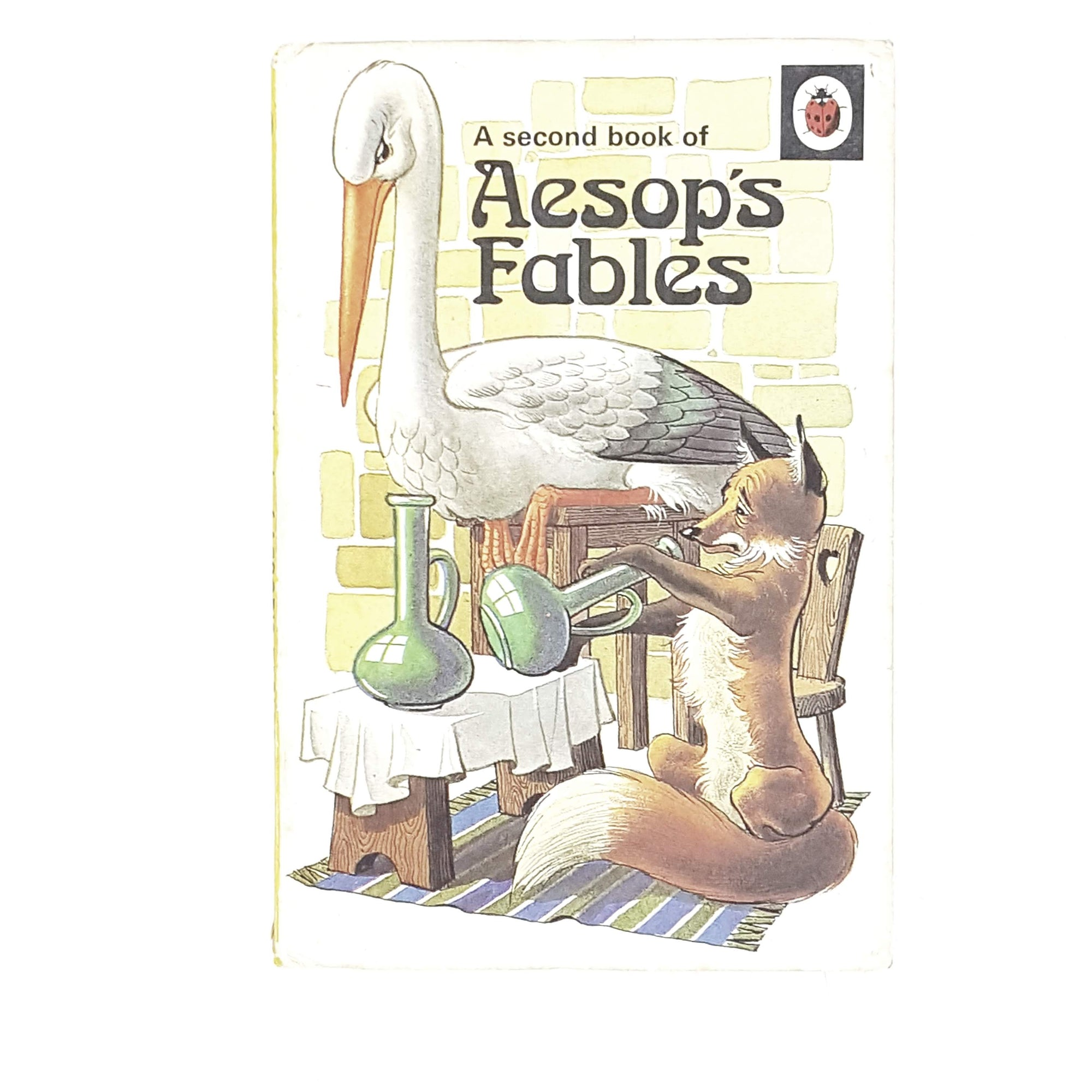 vintage-ladybird-a-second-book-of-aesops-fables-1974-kindergarten-books-country-house-library