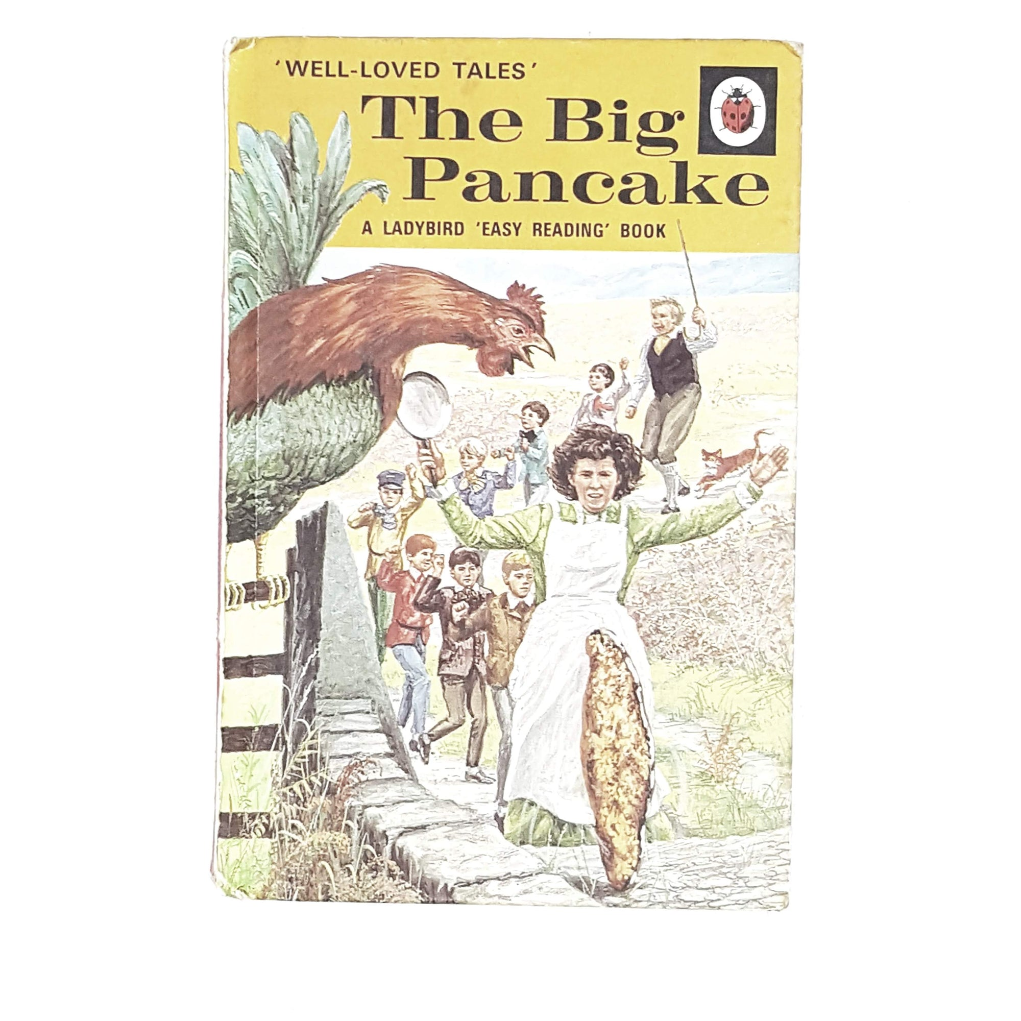Vintage Ladybird: The Big Pancake 1972