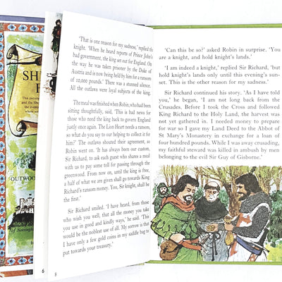 vintage-ladybird-robin-hood-and-the-kings-ransom-kindergarten-books-country-house-library