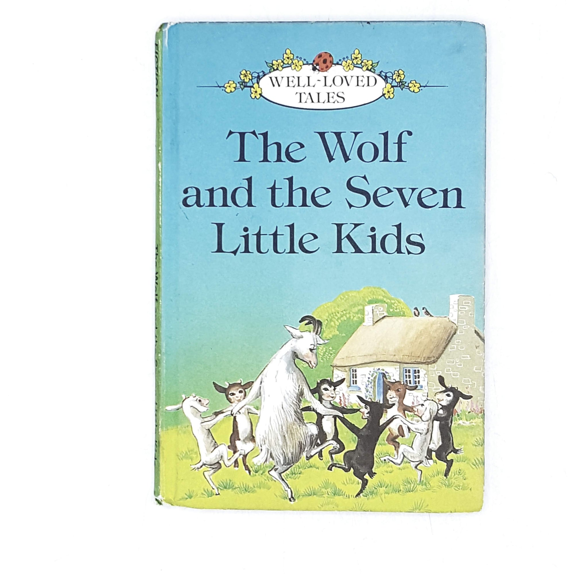 Vintage Ladybird: The Wolf and the Seven Little Kids 1979