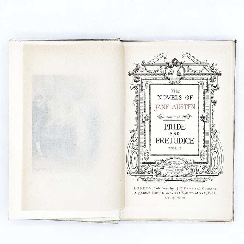 jane-austens-pride-and-predjudice-vol-1-1892-country-house-library