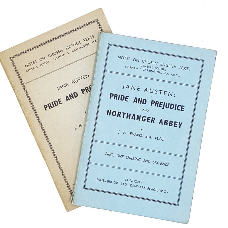 Jane Austen Notes on Chosen English Texts c1960
