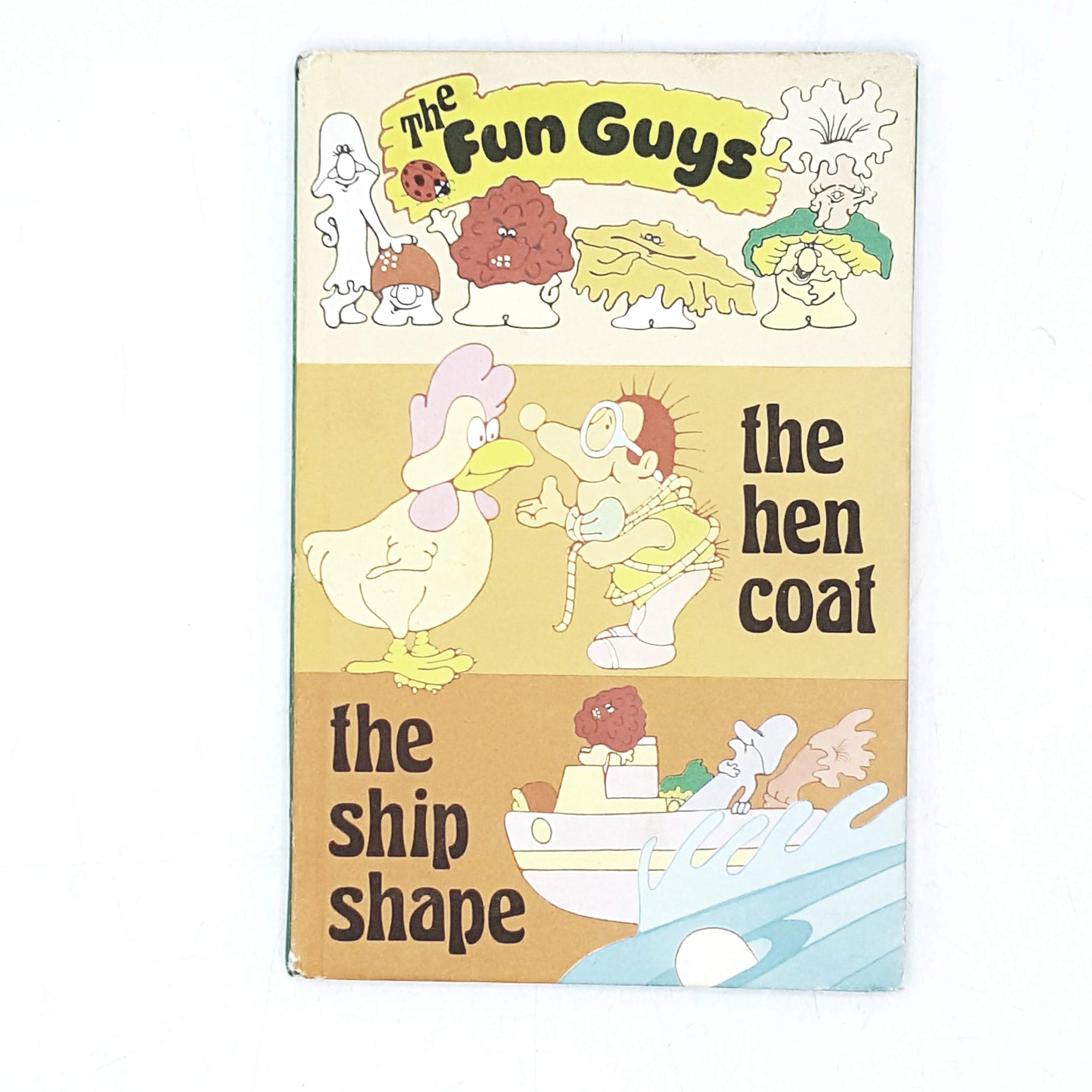 Vintage Ladybird: The Fun Guys The Hen Coat and The Ship Shape