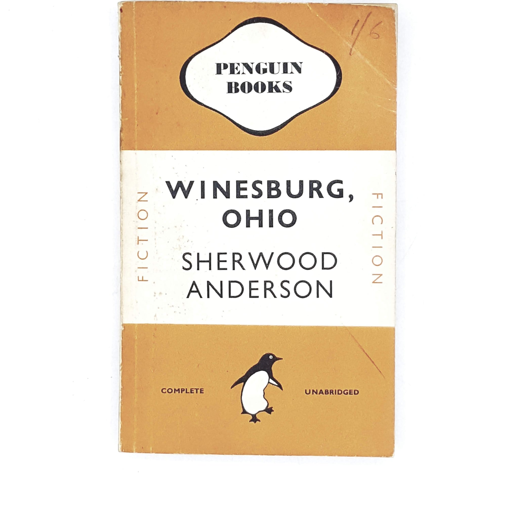 Vintage Penguin Winesburg, Ohio by Sherwood Anderson 1947