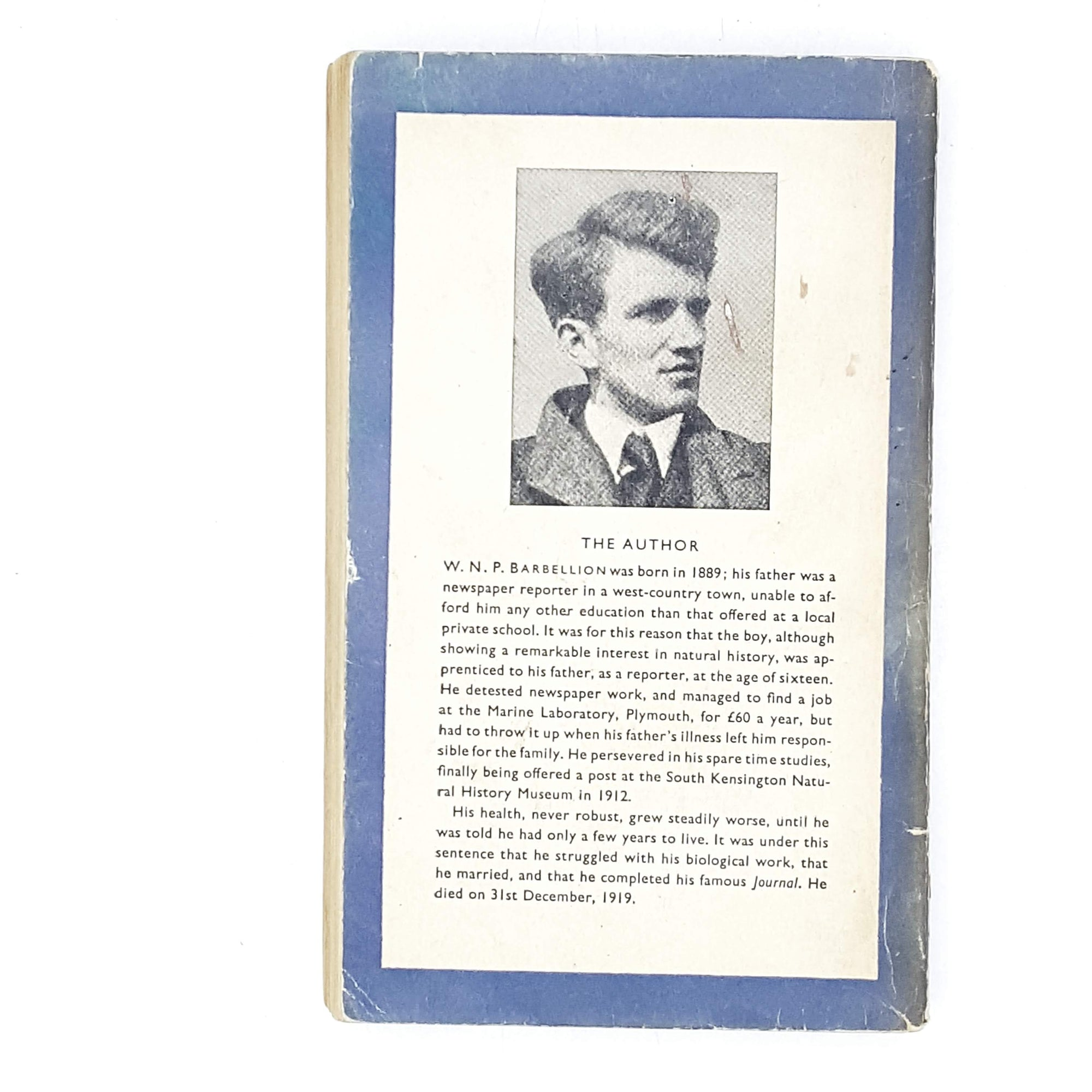 vintage-penguin-the-journal-of-a-disappointed-man-by-w.-n.-p.-barbellion-1948-blue-country-house-library