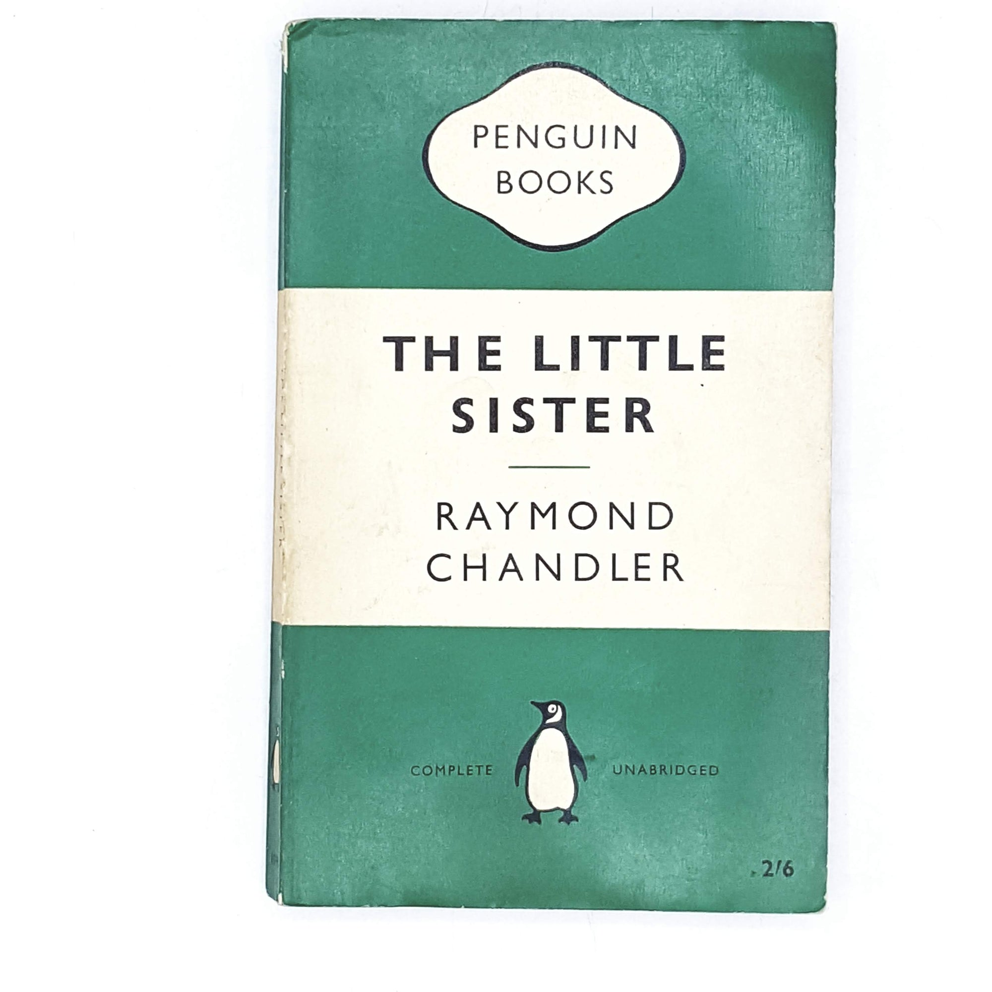 Vintage Penguin The Little Sister by Raymond Chandler 1959