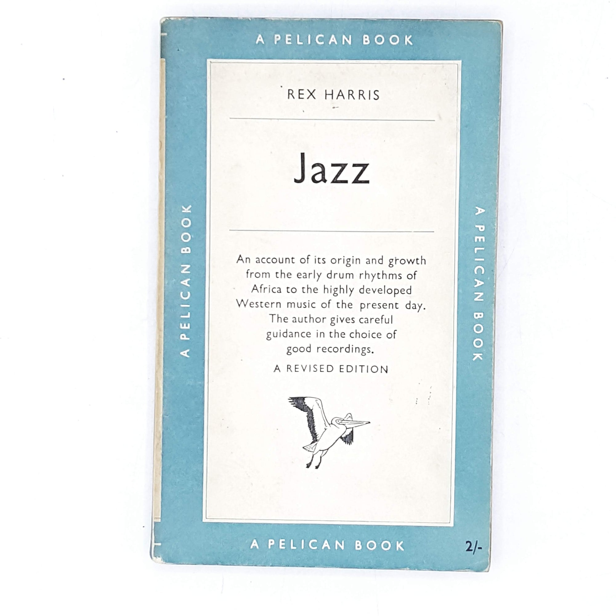 vintage-pelican-jazz-by-rex-harris-1953-pale-blue-country-house-library