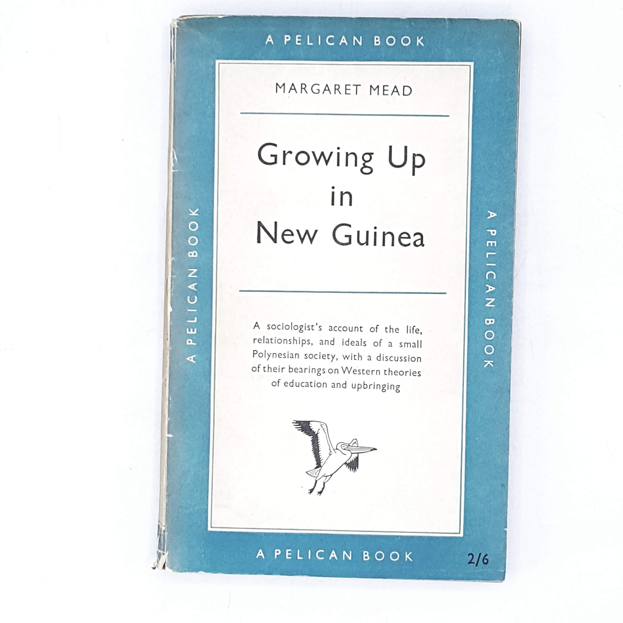Vintage Pelican Growing Up in New Guinea by Margaret Mead 1954