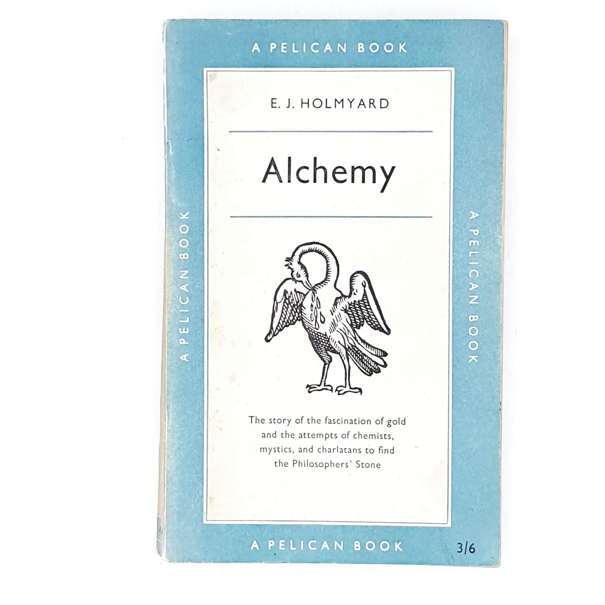 vintage-pelican-alchemy-by-e.-j.-holmyard-1957-pale-blue-country-house-library
