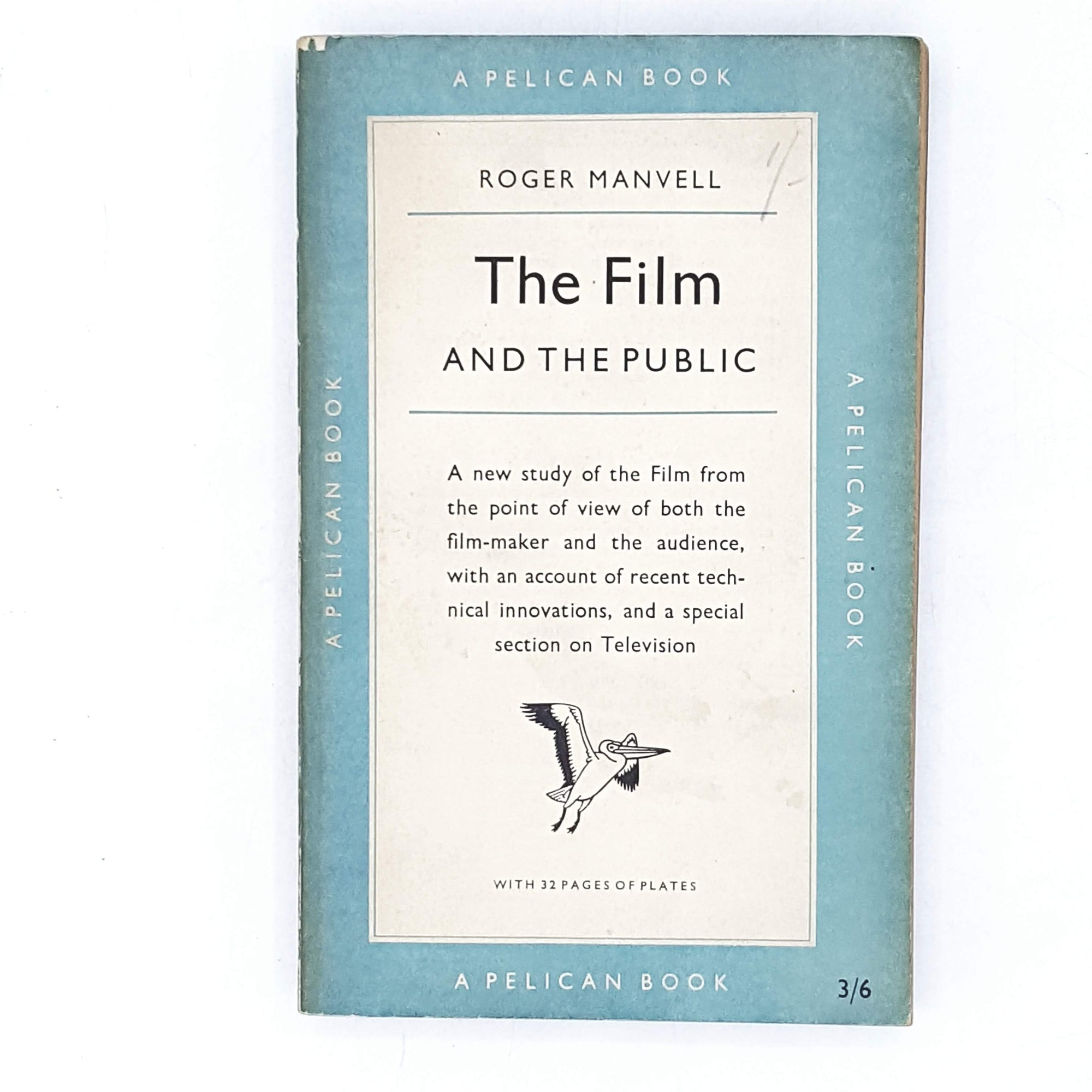 vintage-pelican-the-film-and-the-public-by-roger-manvell-1955-pale-blue-country-house-library