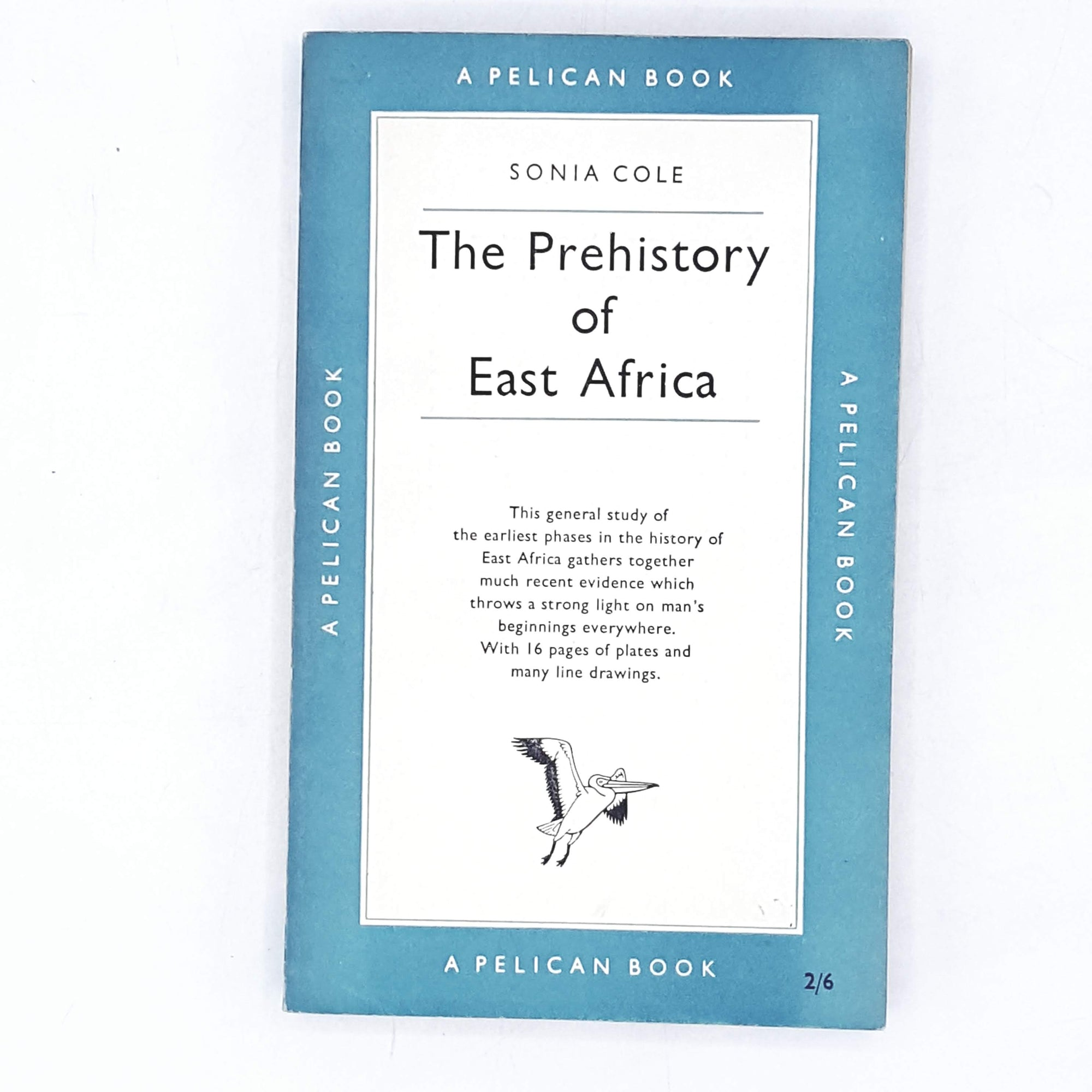 vintage-pelican-the-prehistory-of-east-africa-by-sonia-cole-1954-pale-blue-country-house-library
