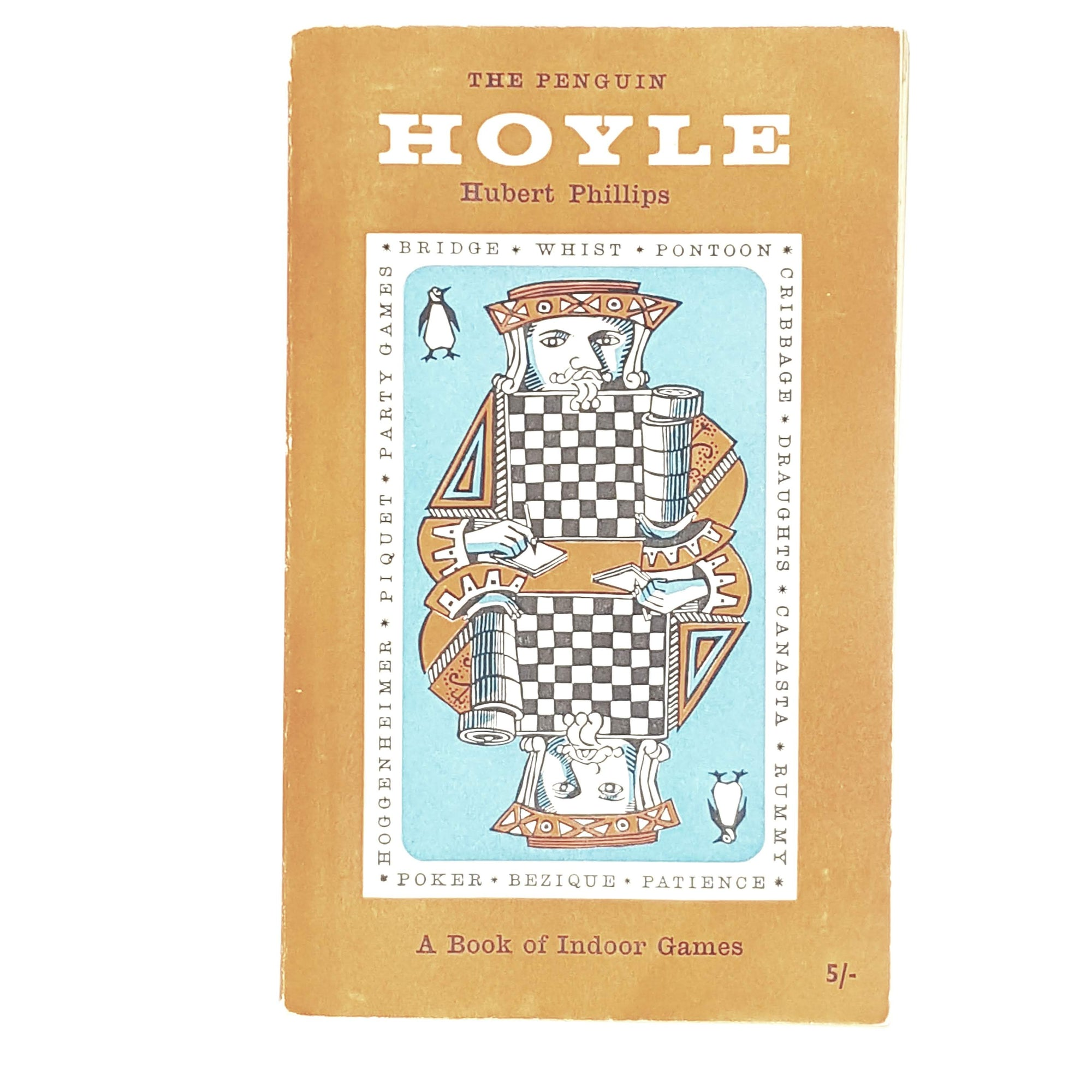 Vintage Penguin Hoyle Book of Indoor Games 1958