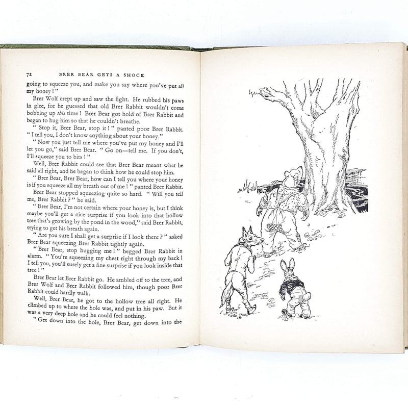 illustrated-enid-blyton-beige-brer-rabbit-book-1963-country-house-library
