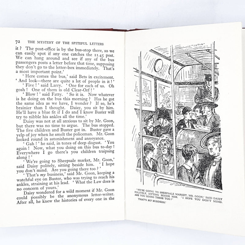 Illustrated Enid Blyton's The Mystery of the Spiteful Letters 1959