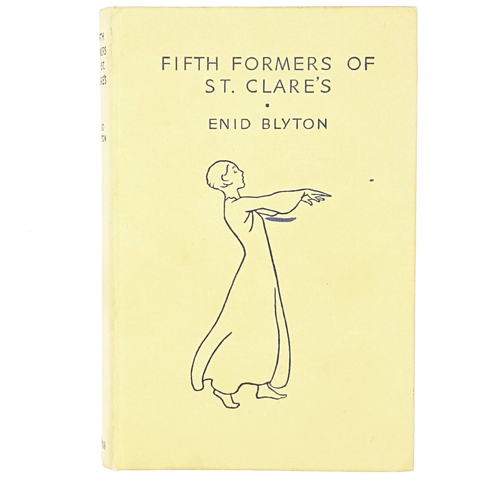 Illustrated Enid Blyton's Fifth Formers of St. Clare's 1962