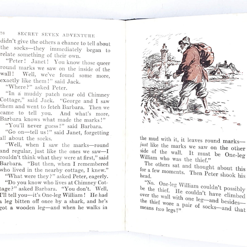 Illustrated Enid Blyton's The Secret Seven Adventure 1952