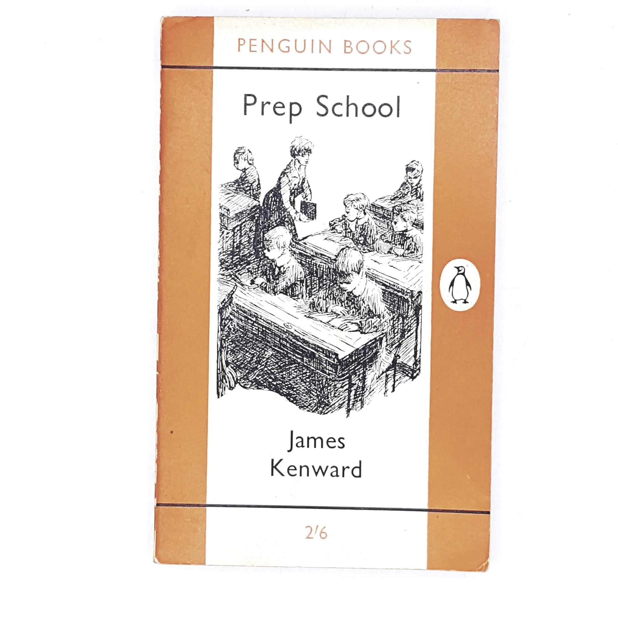 Vintage Penguin Prep School by James Kenward 1958