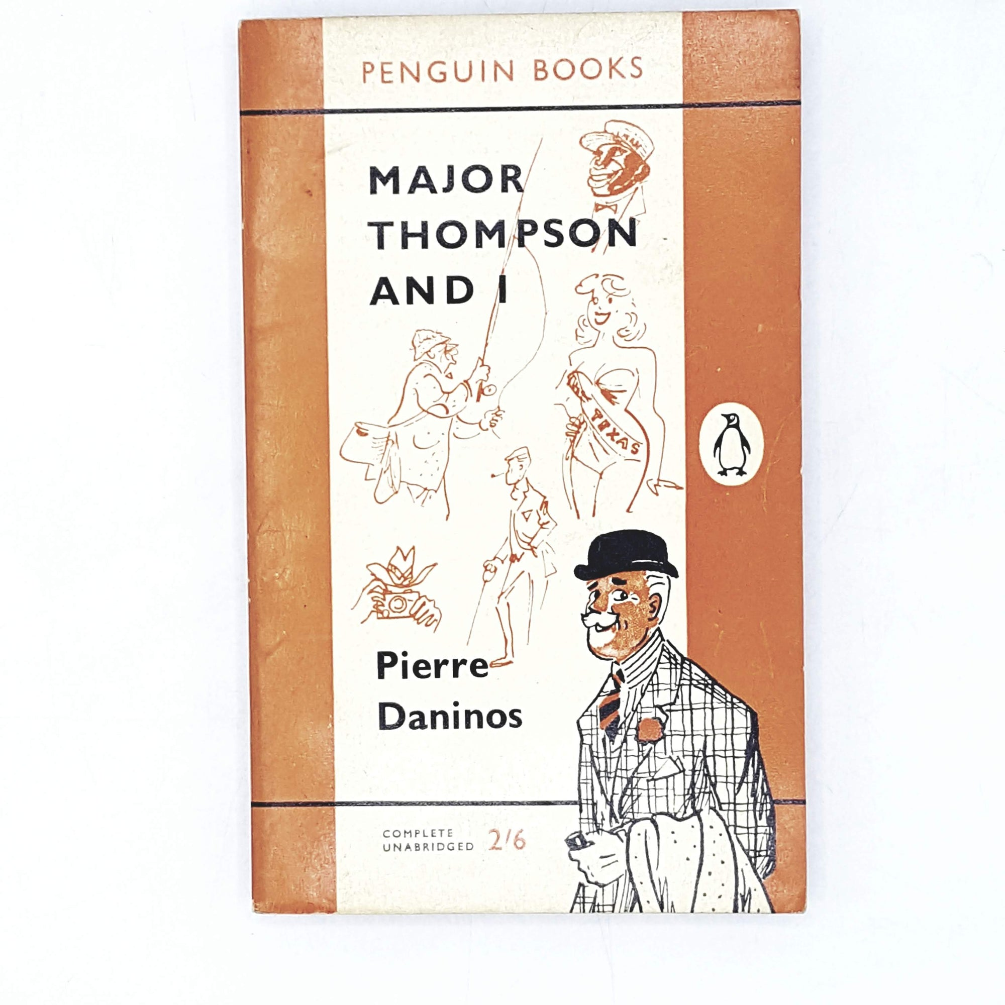 Vintage Penguin Major Thompson and I by Pierre Daninos 1960