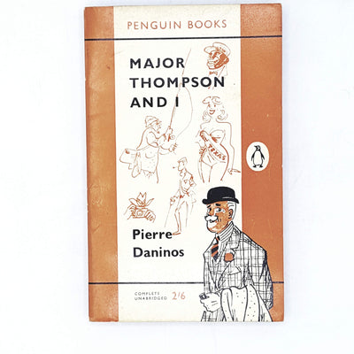 vintage-penguin-major-thompson-and-i-by-pierre-daninos-1960-country-house-library