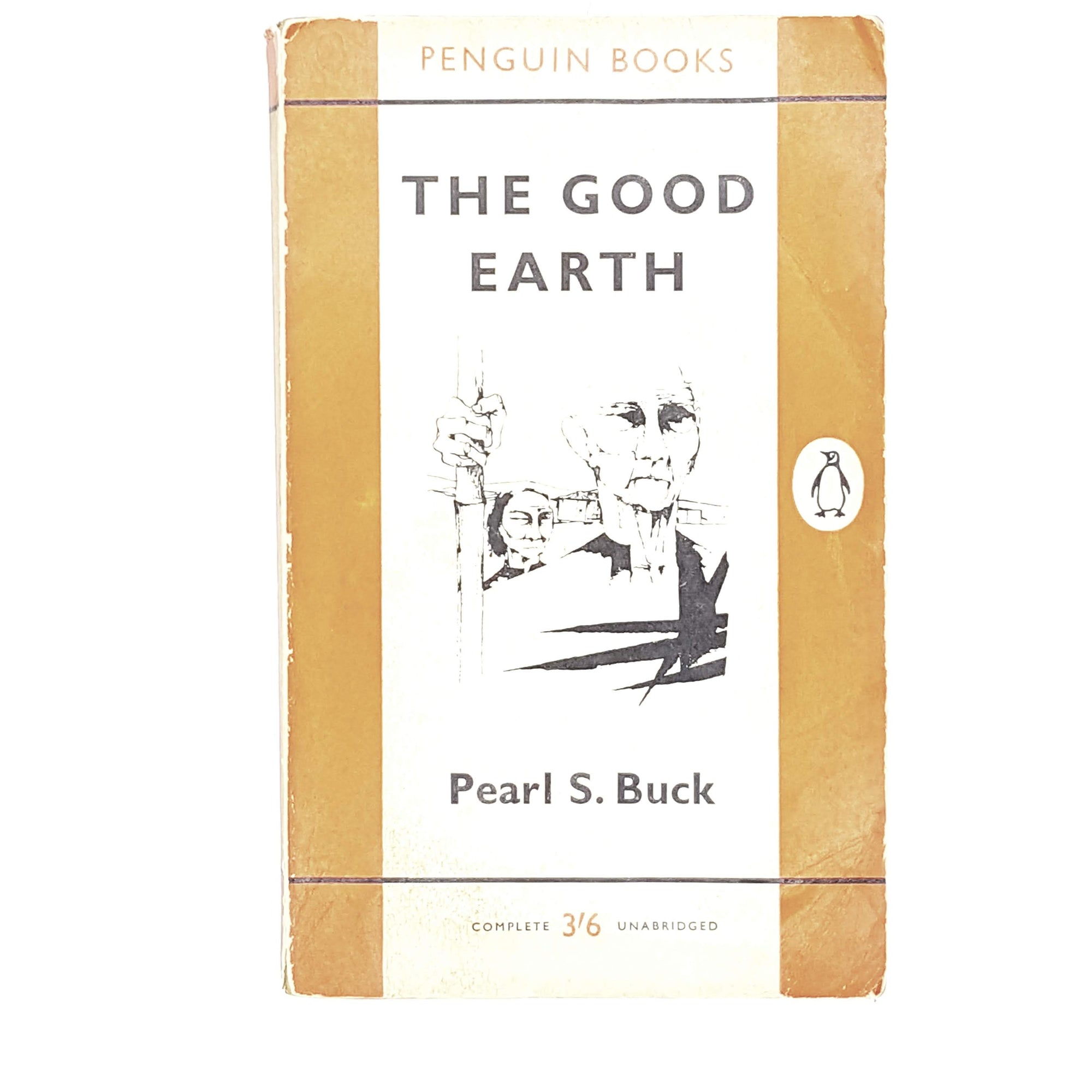 Vintage Penguin The Good Earth by Pearl S. Buck 1960