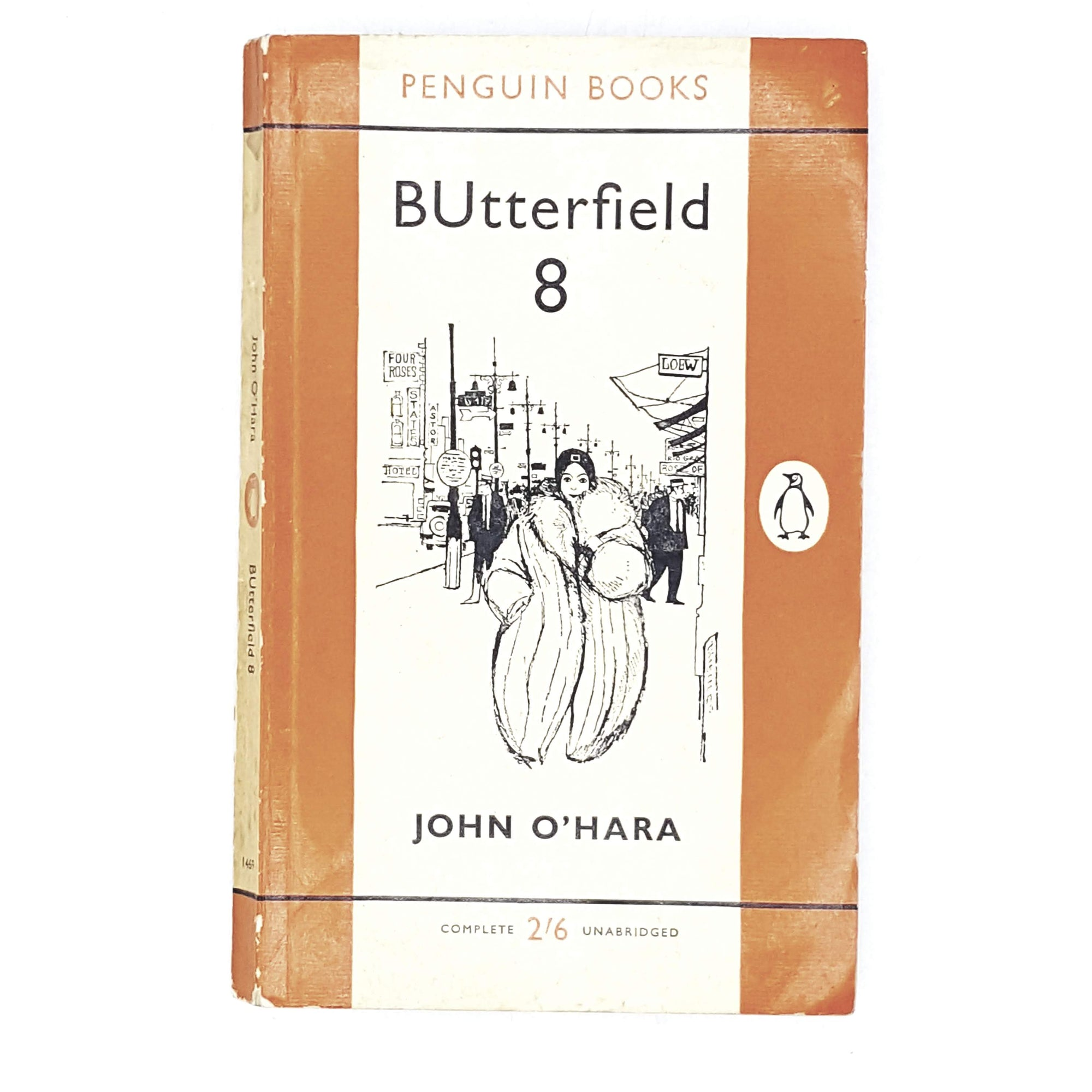 Vintage Penguin BUtterfield 8 by John O'Hara 1960