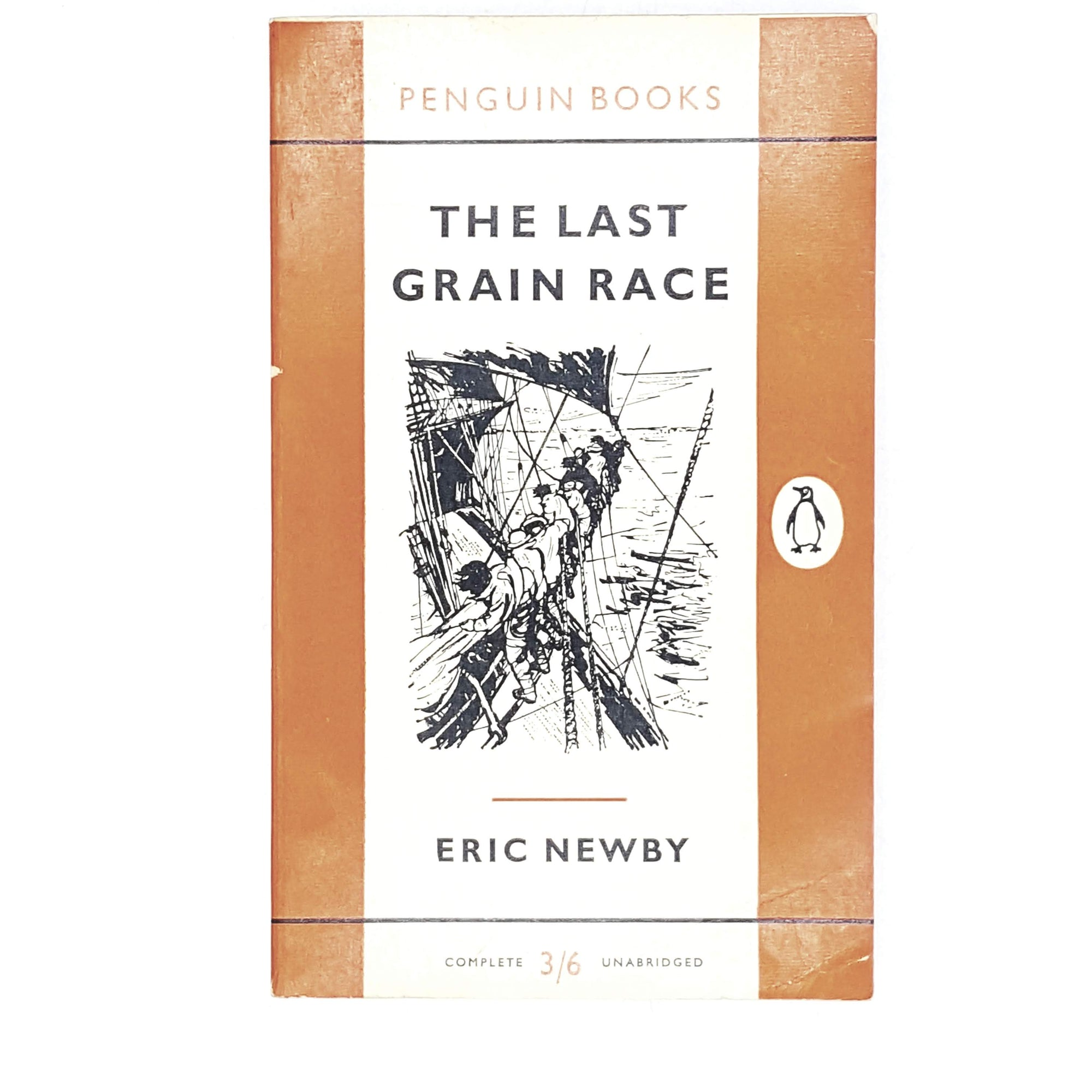 Vintage Penguin The Last Grain Race by Eric Newby 1958