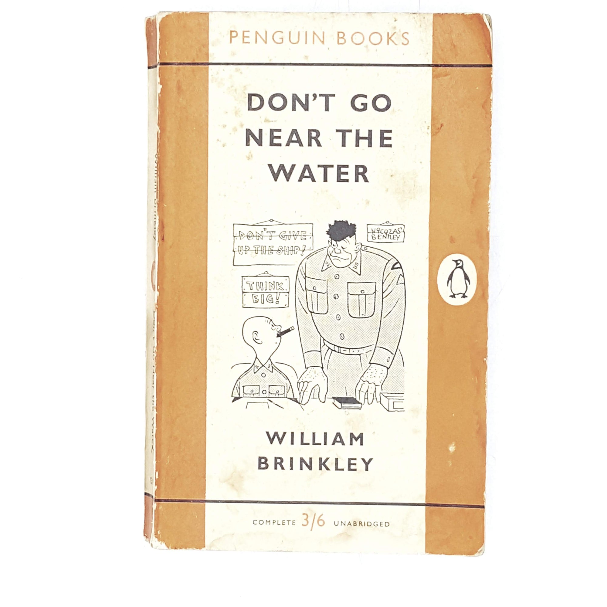 Vintage Penguin Don't Go Near the Water by William Brinkley 1959