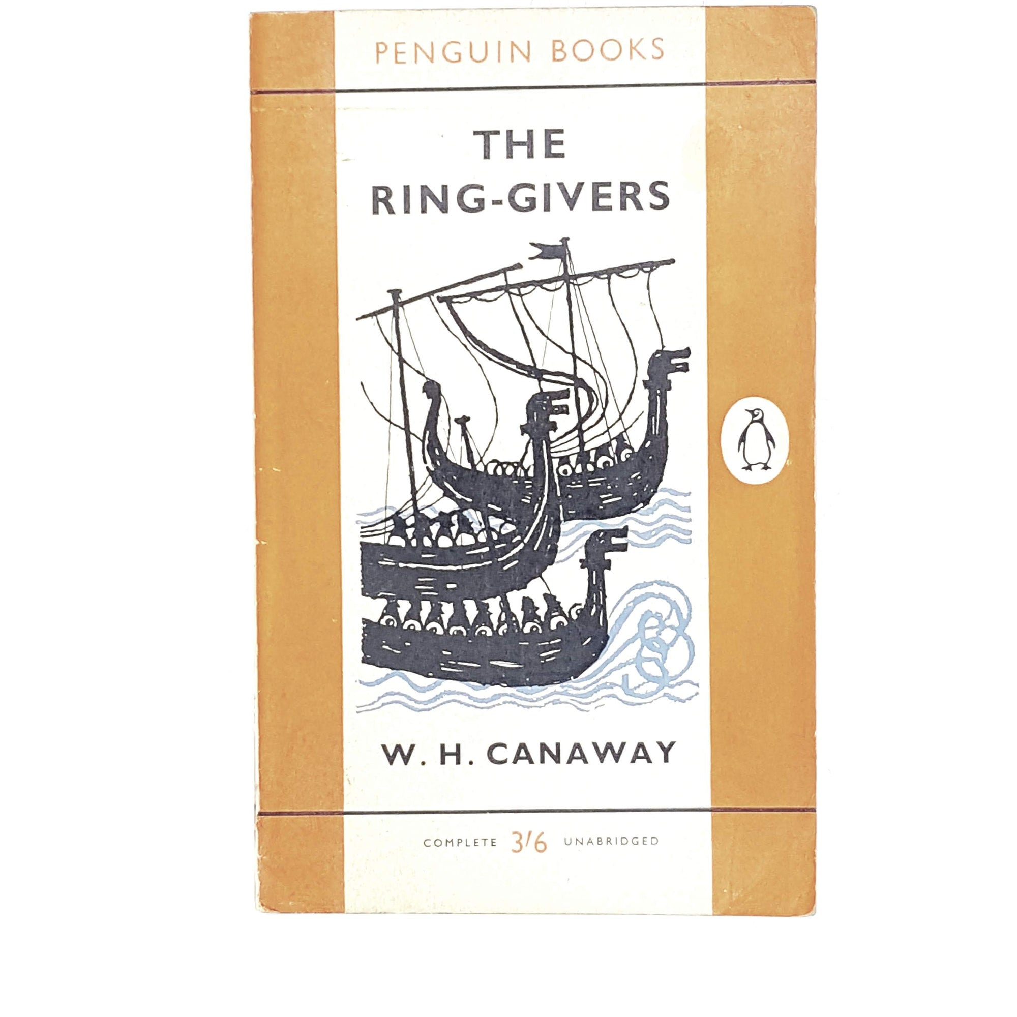 Vintage Penguin The Ring-Givers by W. H. Canaway 1961