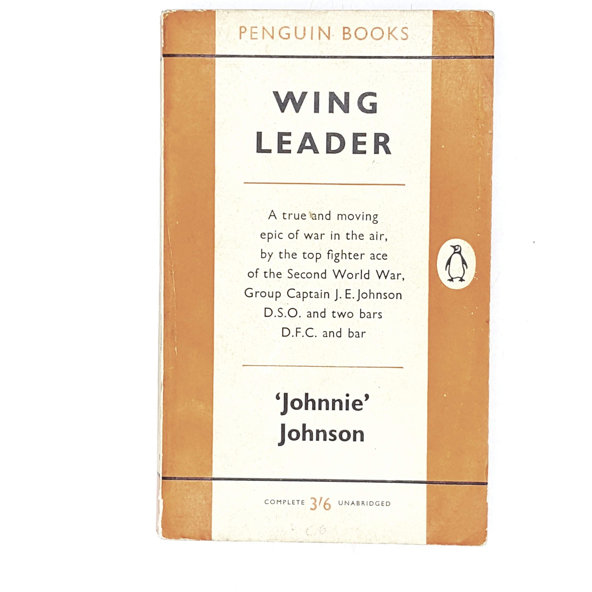 Vintage Penguin Wing Leader by Johnnie Johnson 1959
