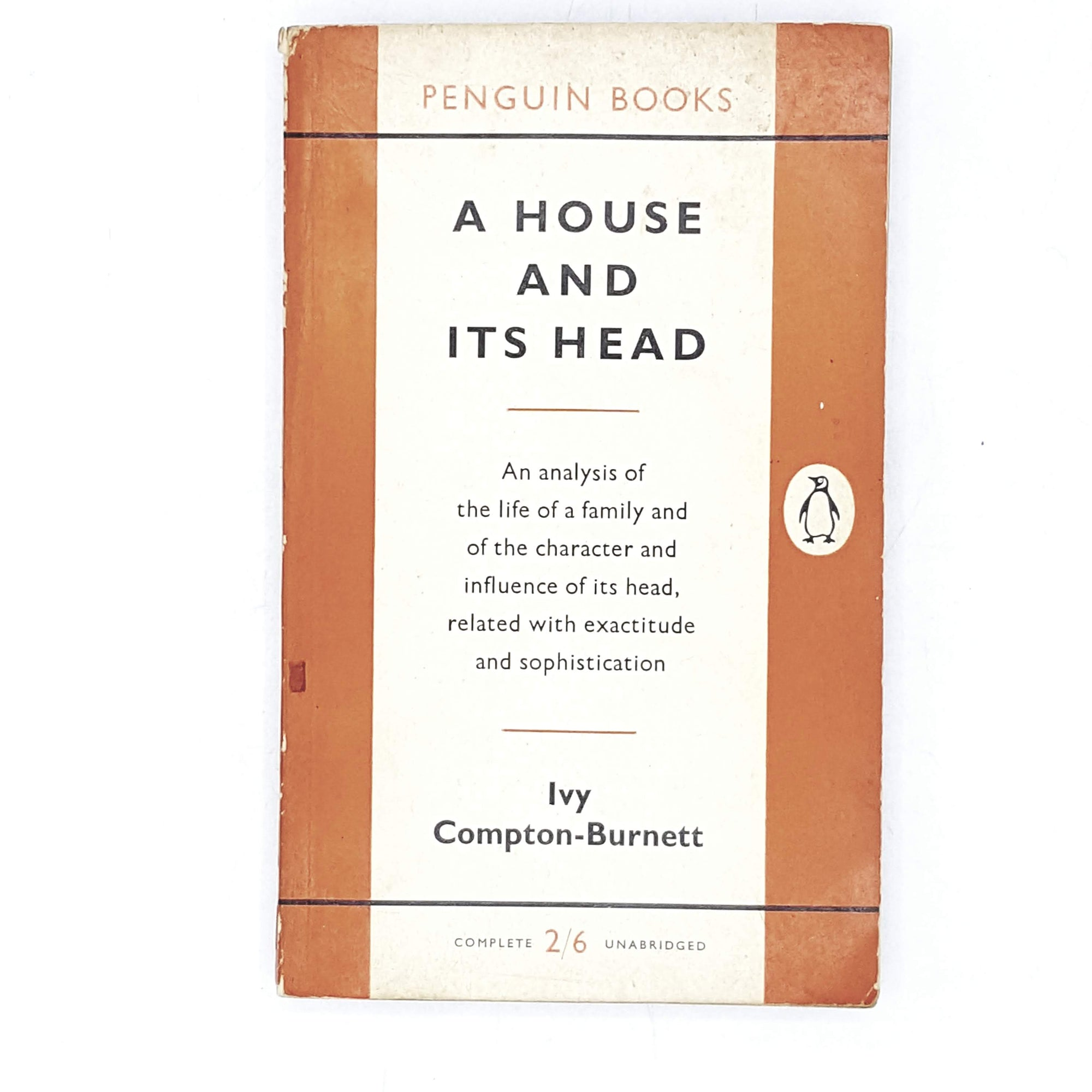 Vintage Penguin A House and Its Head by Ivy Compton-Brunett 1958