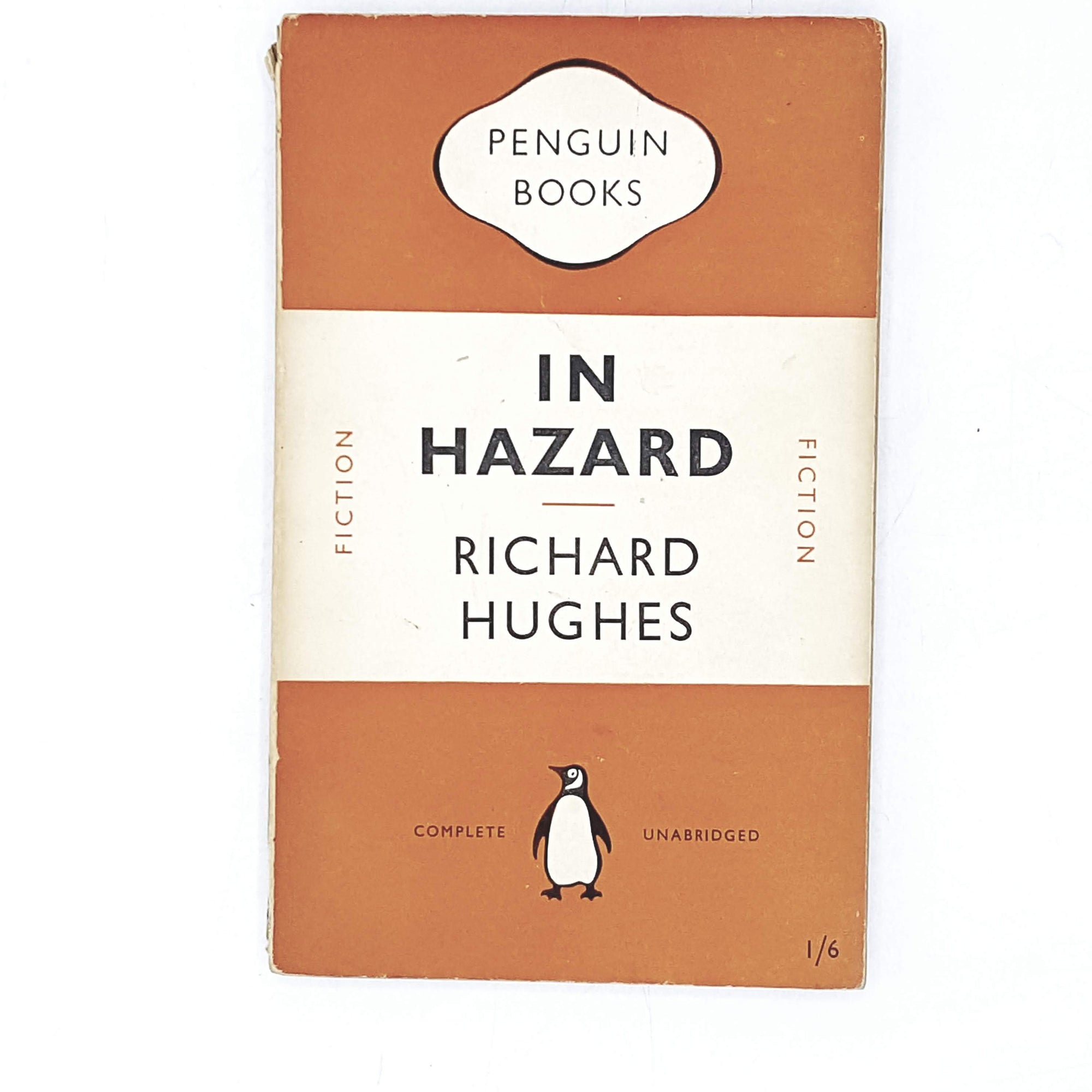 Vintage Penguin In Hazard by Richard Hughes 1950