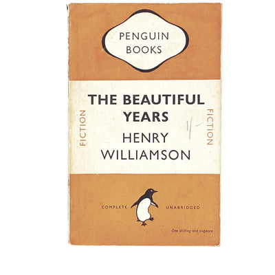 vintage-penguin-the-beautiful-years-by-henry-williamson-1949-country-house-library