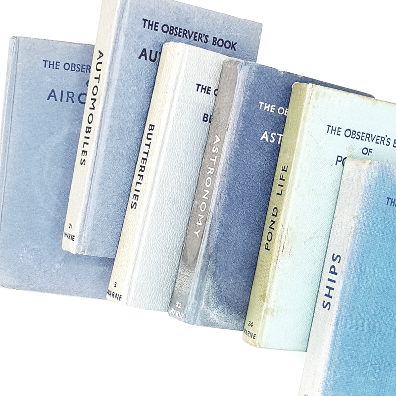 Observer Six Book Blue Collection