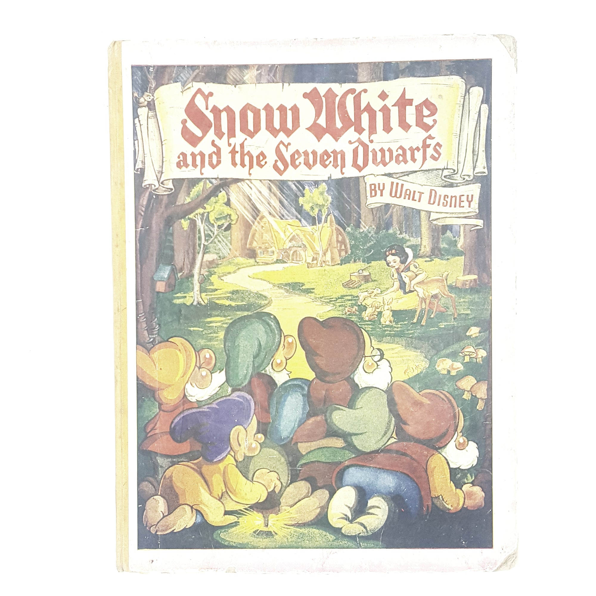 Vintage Walt Disney Snow White and the Seven Dwarfs