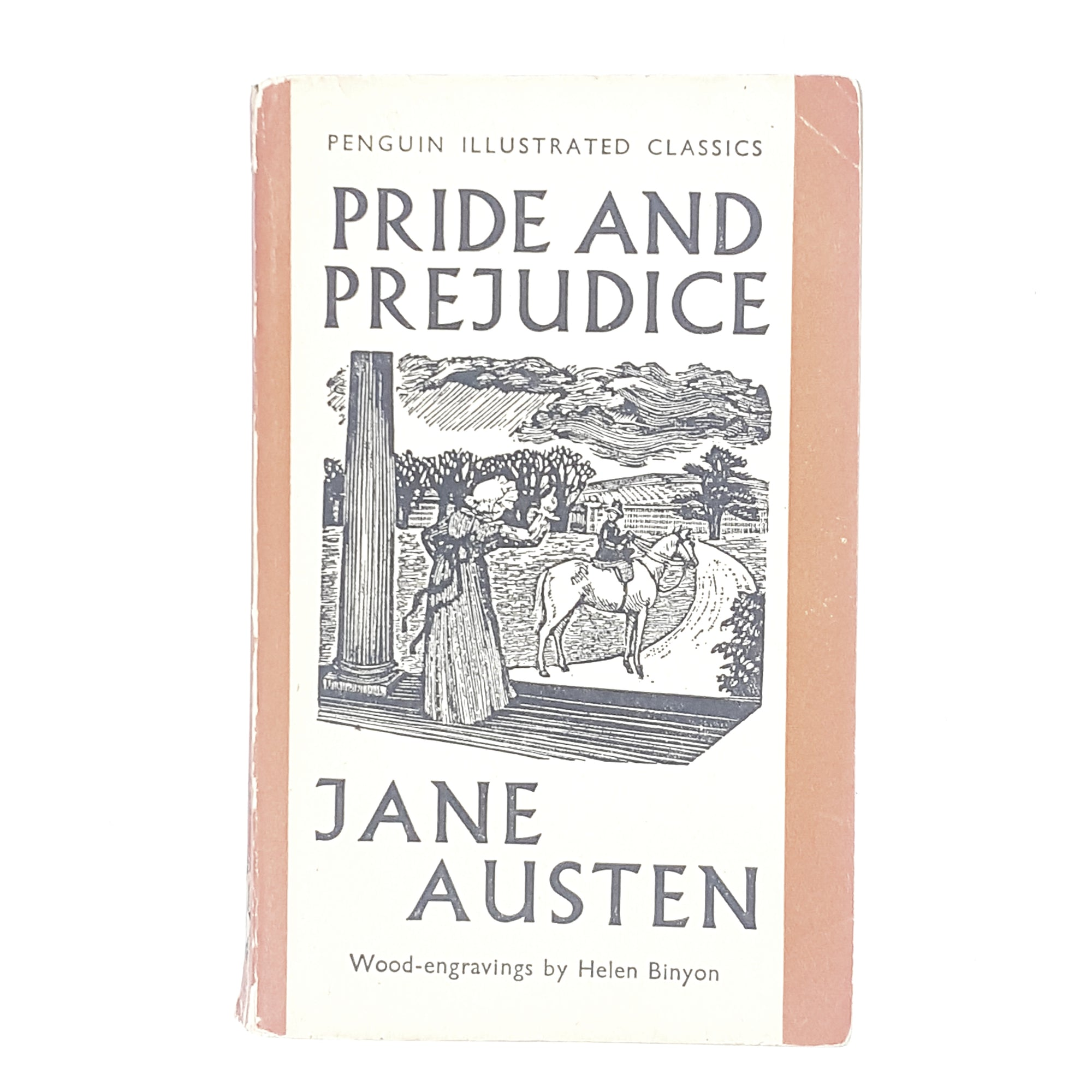 Jane Austen's Pride and Prejudice Penguin Illustrated Classics Edition 1938
