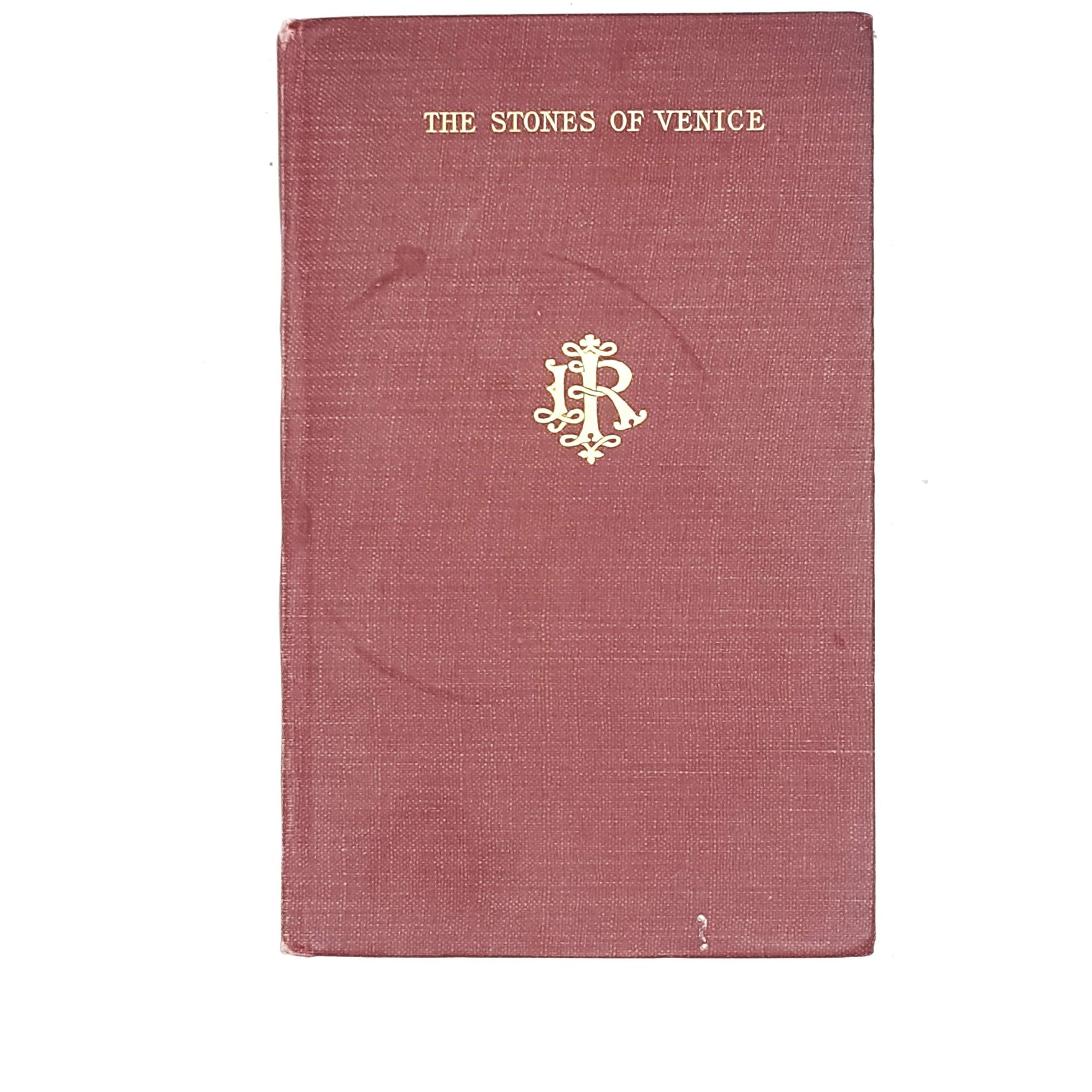 Illustrated The Stones of Venice: The Foundations by John Ruskin 1906