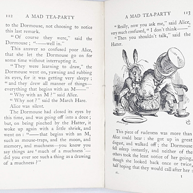 Illustrated Alice's Adventures in Wonderland by Lewis Carroll 1931