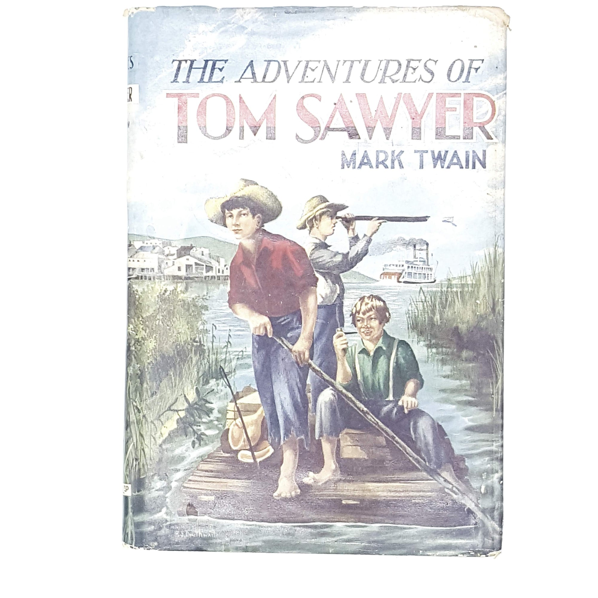 mark-twain-adventures-tom-sawyer-country-house-library