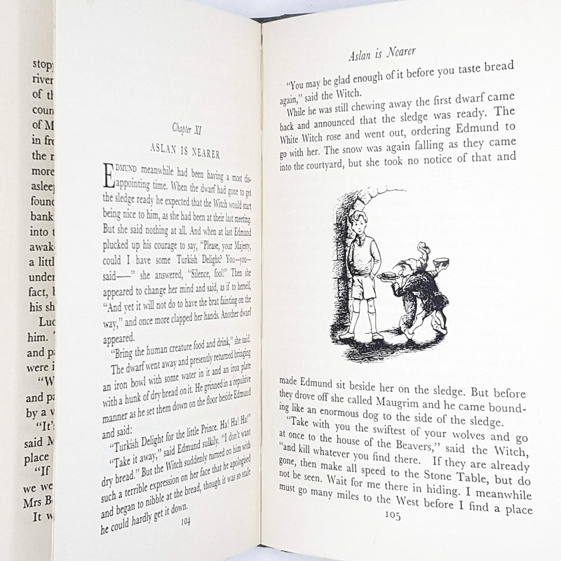 C. S. Lewis's The Lion, The Witch and the Wardrobe Illustrated 1964