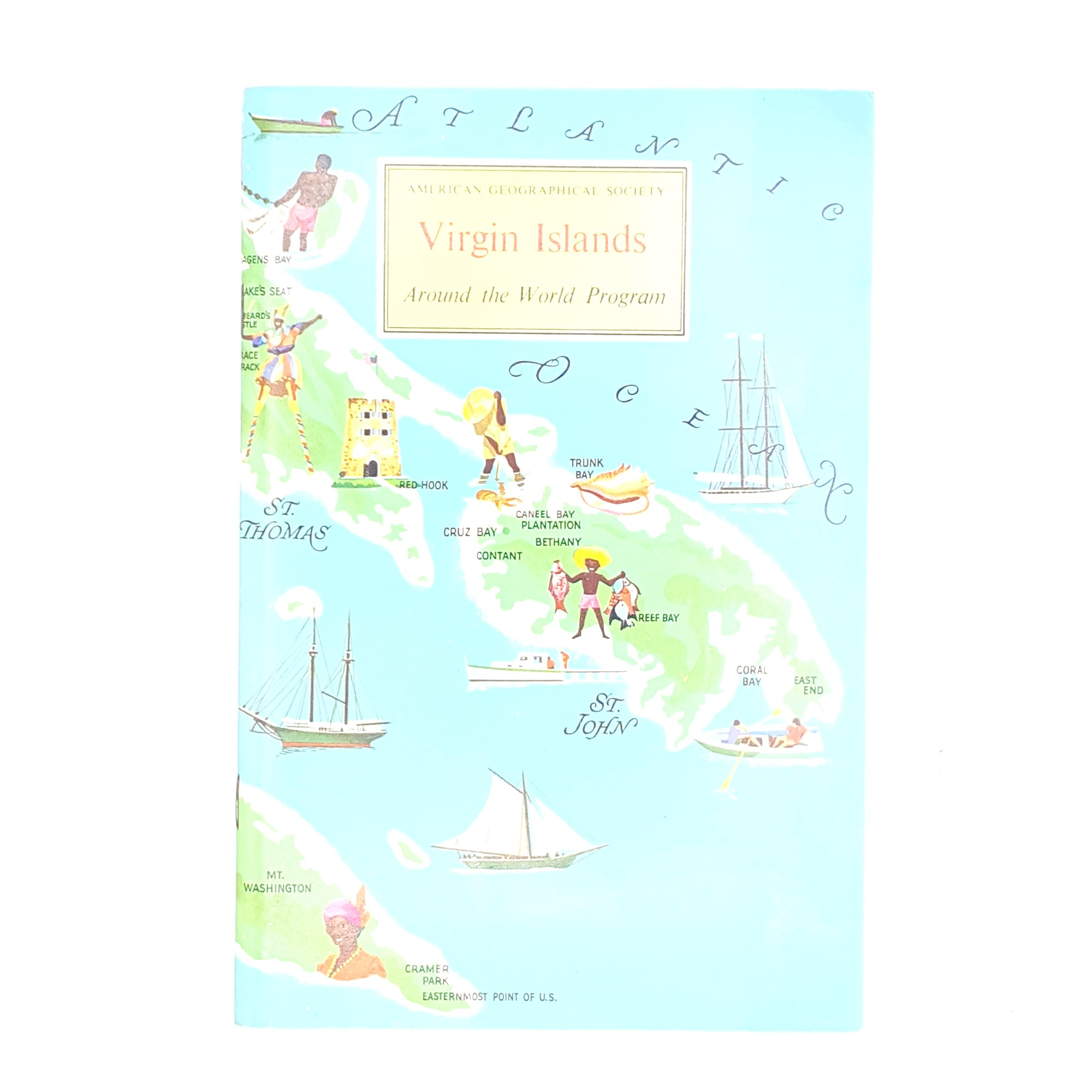 American Geographical Society Guide to The Virgin Islands 1969