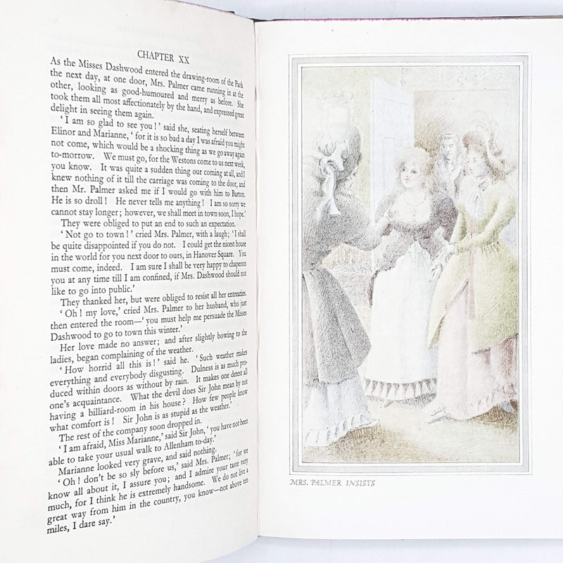 Illustrated Jane Austen's Sense and Sensibility