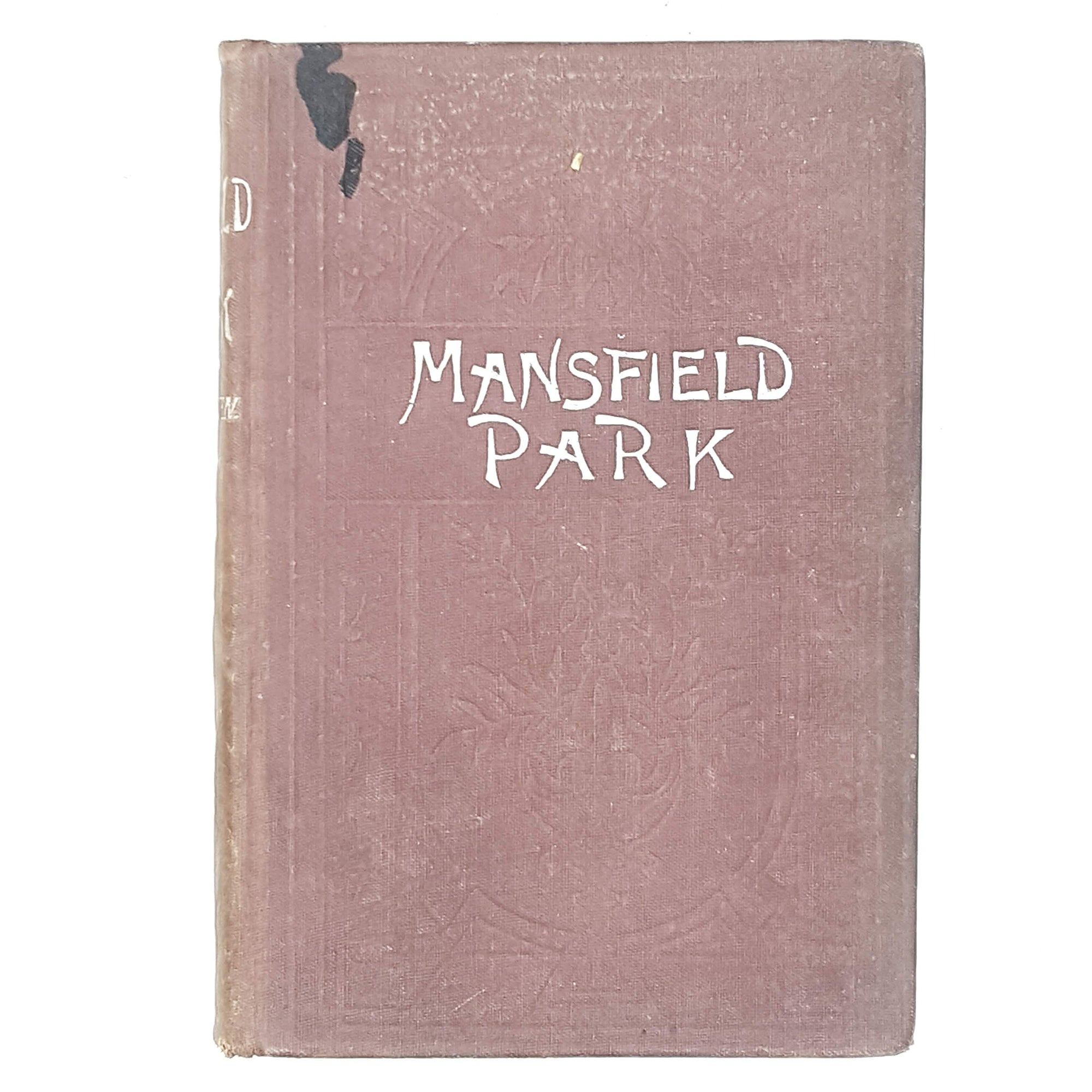 Jane Austen's Mansfield Park brown and silver