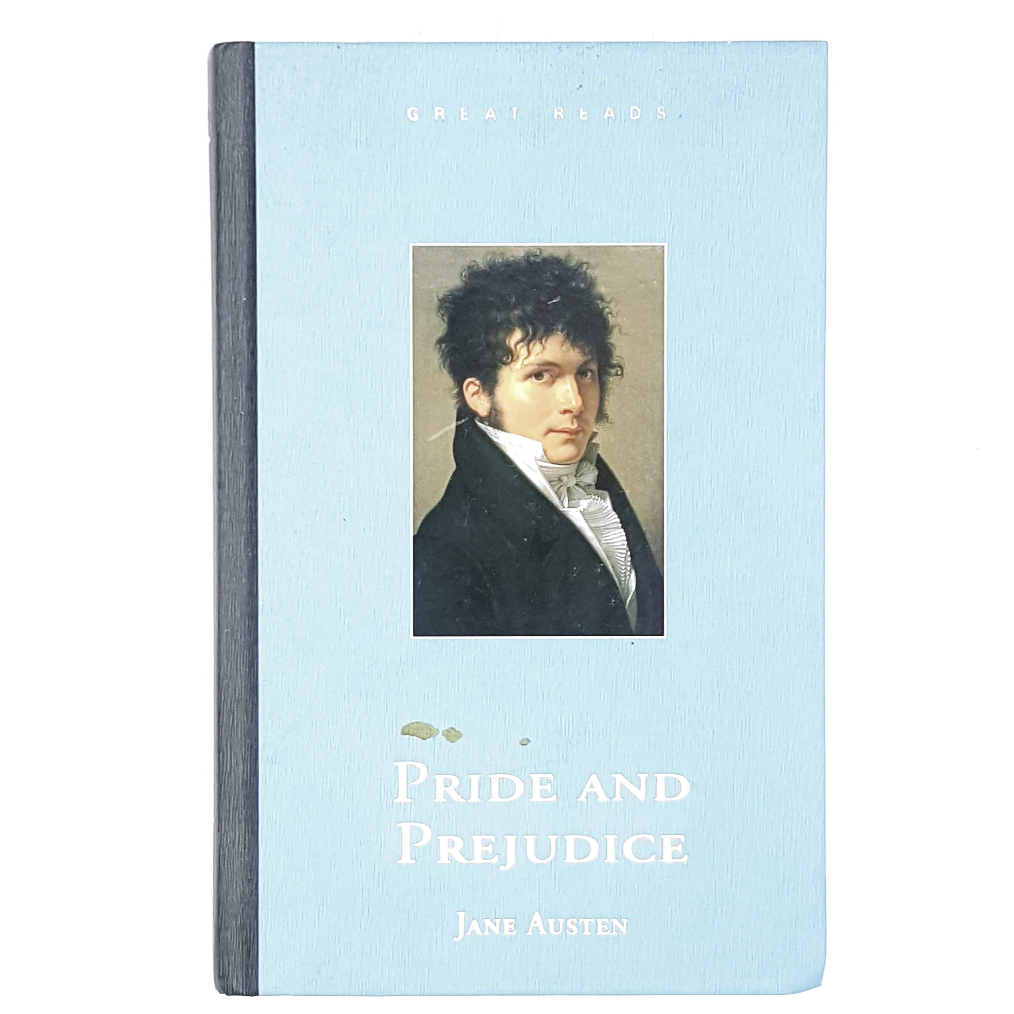 Jane Austen's Pride and Prejudice pale blue